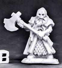 1x UNDYING DWARF FIGHTER -BONES REAPER figurine miniature rpg jdr skeleton 77561