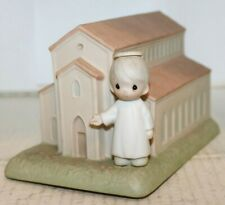 Vintage 1989 Precious Moments Collection 'There's A Christian Welcome Here'