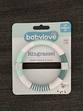 Baby-Rassel / Greifring / Rassel / Ringrassel von babylove