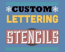 custom word stencil A4 - personalised £5.90 One Price