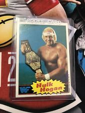 1985 Topps #16 Hulk Hogan WWF Wrestling Card