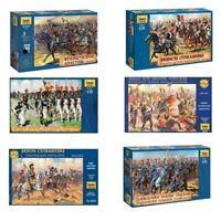 "Model Kits ""Soldiers of French Army, Napoleonic Wars 1804-15"" 1:72 Zvezda"