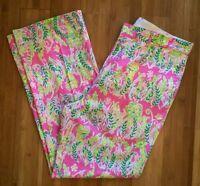 Lilly Pulitzer Men's 32 29.5 Derby Pants Pink Green Mens Stuff 30 Shorts