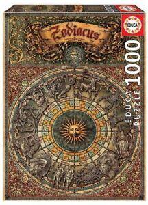 EDUCA 1000 piece jigsaw puzzle ZODIAC horoscopes