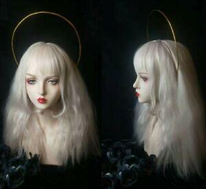 Women Girl Halloween Gold Moon Witch Halloween Costume Party Hair Band headband