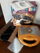 Nostalgia Electrics Stainless Steel 2-in-1 Churros & Empanada Baker Machine Rare