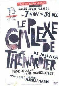 "DVD NEUF ""LE COMPLEXE DE THENARDIER"" Jean-Michel RIBES / theatre"