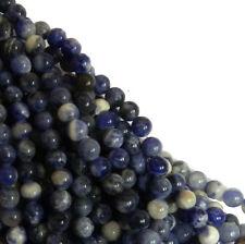 Sodalite 6mm Natural Gemstone Round Beads 15 Inch Loose