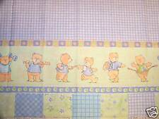 Baby All Star Sports Double Border Fabric Cathy Heck