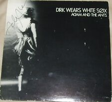Adam And The Ants - Dirk Wears White Sox UK LP Autographed by Adam Ant with COA
