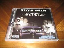 Chicano Rap CD Slow Pain - This is 4 My Raza - Bigg Bandit Sal Capone Jonny U