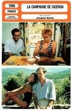 LA CAMPAGNE DE CICERON (FICHE CINEMA) Marshall,Haudepin,Bonnaffé,Davila 1990
