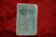 Libro Antico 1882 Les Incas Peru Tome II Marmontel Biblothèques Nationale