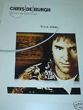 CHRIS DE BURGH: Quiet Revolution Tour 2000 - Programme