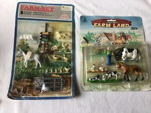 Sunny Farm/Pyragric, 90s, Farm-Set (Britains copies) & Farm Land, 54mm scale.