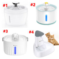 isYoung Automatic Electric Pet Water Fountain Usb Cat Dog Drinking Dispenser Usa