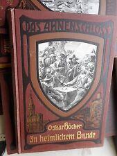 Oskar Höcker: Das Ahnenschloß Vier kulturgeschichtliche Erzählungen 1910