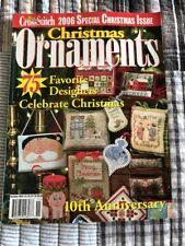 2006 Just Cross Stitch Special Christmas Issue Ornaments 75 Different