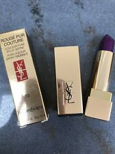 New YSL Rouge Pur Couture Pure Colour Satiny Radiance Lipstick- 39 Pourpre Divin