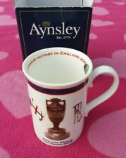 More details for england cricket regain the ashes 2005 aynsley bone china cup mug new with box