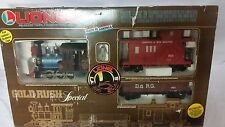 LIONEL Gold Rush Special 1987 G-Scale Electric Train Set in Box EUC Complete