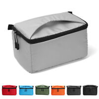 Portable Waterproof Padded DSLR Case Insert SLR Cover Camera Bag For Canon Sony