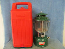COLEMAN MODEL 220J LANTERN DATED 11-76 AND RED CASE