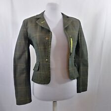 Miss Sixty Blazer Sz Small Lined Cotton  Jacket Coat Shoulder Pads