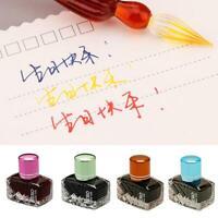 25ml Smooth Writing Füllfederhalter Student Color Ink Glasflasche Bürobedarf