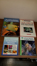 Marine Aquarium, Filtration, Water Chemistry, Saltwater Problem Solver Books