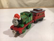 Santa Holiday Percy and Caboose for Thomas & Friends Take N Play or Take Along