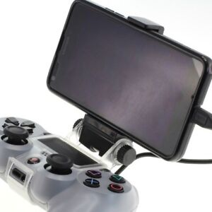 OTB Smartphone Holder For PS4 Controller - Incl. OTG Cable Phone Mount 8011233