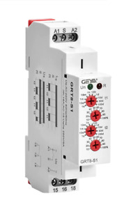 GEYA Asymmetric On Off Double Time Delay Relay 16A 230V S1 Timer Relay 1SPDT