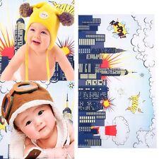 5X3ft Photography Backdrop Cartoon Tower Super Hero Photo Background Studio Prop