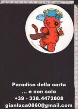 ADESIVO STICKER (Gatto Isidoro - 1983 Mc Naught. Synd. - rif. C)