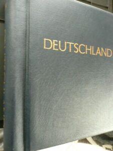 Bund BRD: gute postfrische Sammlung 1949-81 incl geprüftem Posthornsatz in KABE