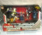 Transformers Universe Optimus Prime Buzzsaw LongRack Blurr 5pc Lot G1 NIB Costco