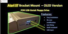 #NEW# Atari ST STE 1024ST 520ST Floppy Drive MOUNT Holder Halter Gotek USB OLED