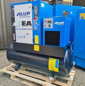 NEW Alup SONETTO9+ Industrial Screw Compressor + Built In Tank & Dryer