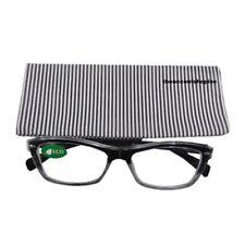 ICU Reading Glasses, Black and White Stripe, 2.25 (76190005)