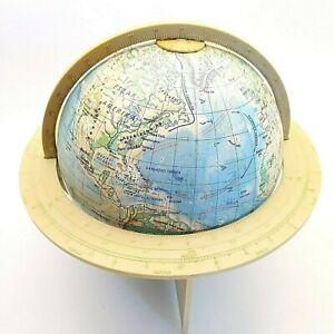 World globe Made in Hungary 1981 Vintage diameter 7 inch