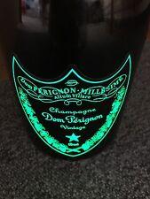 Dom Perignon luminous Label Vintage 04 0,7l Flasche Leer Deko Champagner Shisha