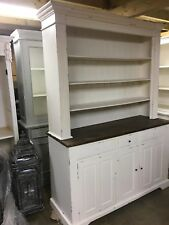 EX DISPLAY LARGE  SOLID WOOD DISPLAY UNIT/ FRENCH DRESSER / CUPBOARD