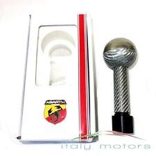 Original Fiat Abarth Schalthebel Carbon mit schwarzer Nummerierung  NEU 59107097