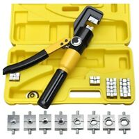 Heavy Duty 4-70mm 8T Manually Hydraulic Crimper Crimping Tool C5G1