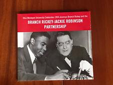 Branch Rickey — Jackie Robinson Partnership