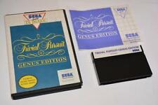 Sega Master System ~ Trivial Pursuit: Genus Edition ~ Complete ~ UK PAL