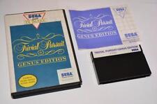 Sega Master System ~ ~ edición Trivial Pursuit: género completo ~ PAL Reino Unido