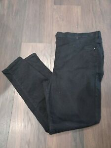 YOURS FANTASTIC LADIES BLACK JENNY JEGGINGS SIZE 24 VERY GOOD CONDITION