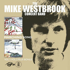 The Mike Westbrook Concert Band : Marching Song - Volume 1 & 2 CD (2018)